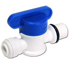New ! BV Series Plastic Straight Ball Valve